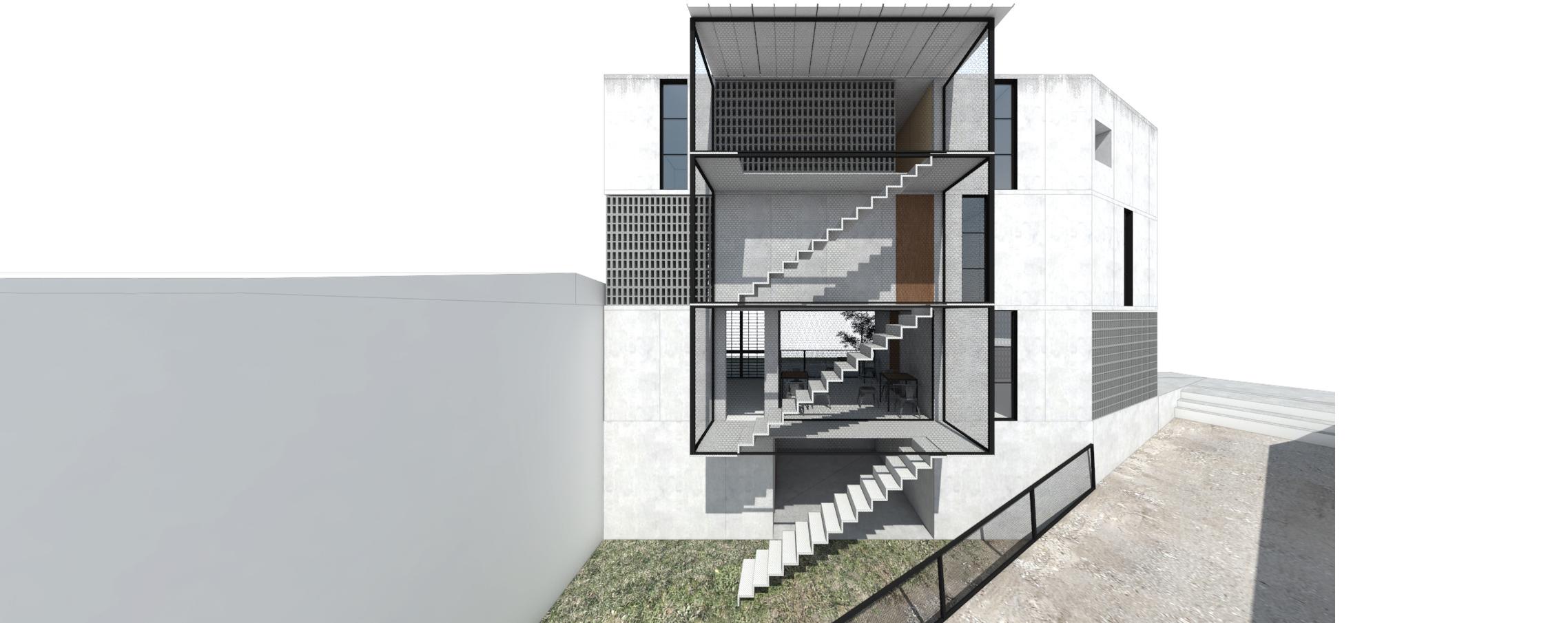 Casa Acarraz: render exterior